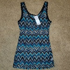 NEW BKE zig zag tank top Size Medium